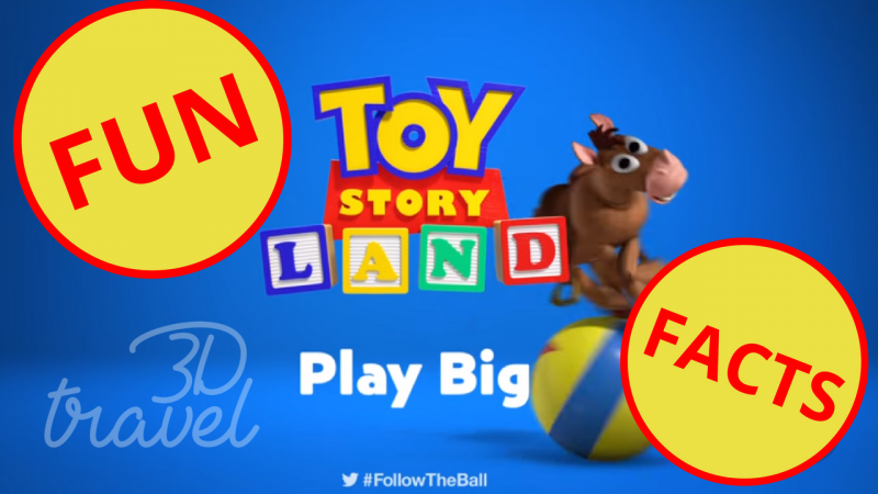 Showcase Fun Facts About Toy Story Land Coming To Walt Disney