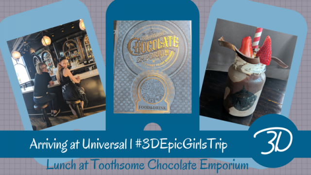 The chocolate steampunk experience of Toothsome Chocolate Emporium l  #3DEpicGirlsTrip
